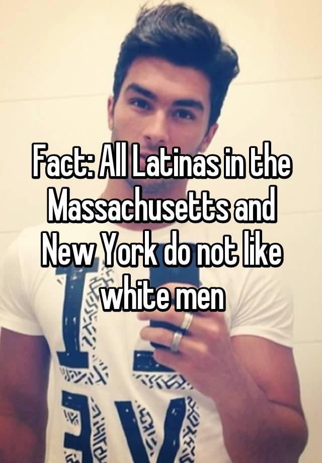 Do latinas like white guys
