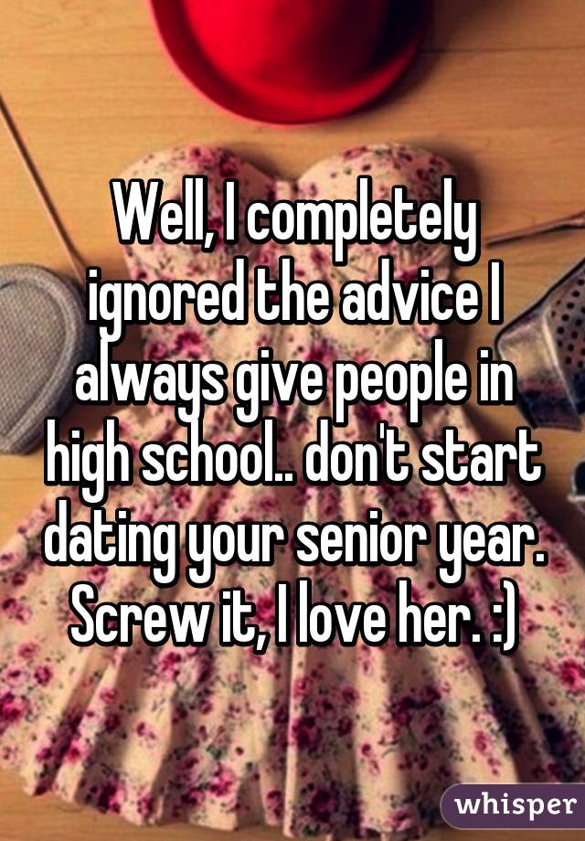Dating in your senior years