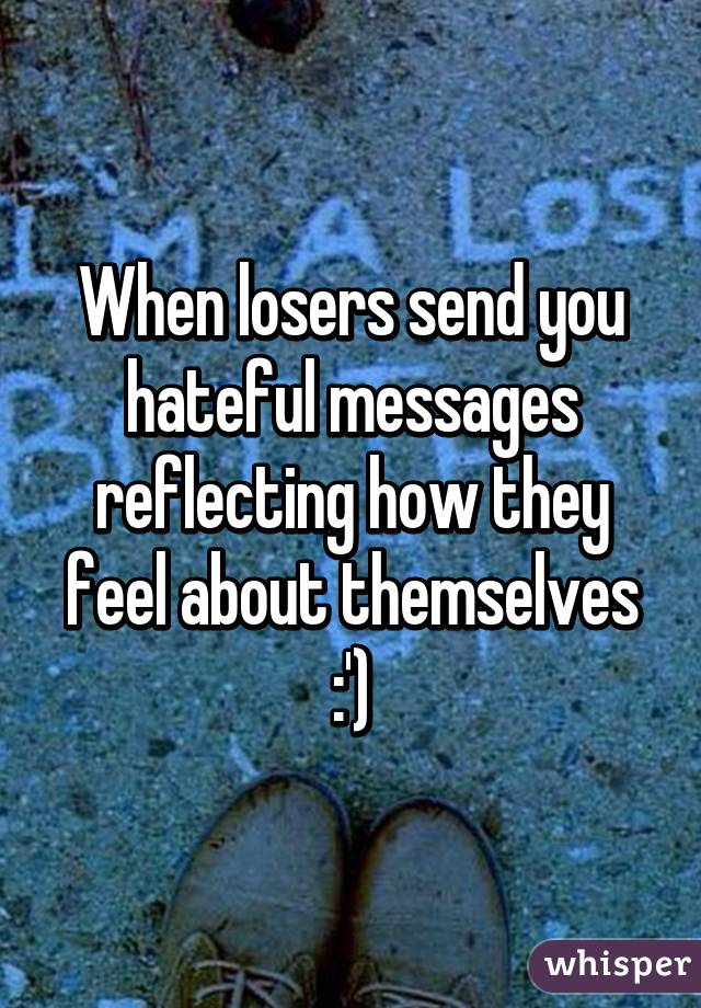 Messages for losers