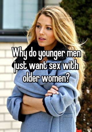 Old women who want sex
