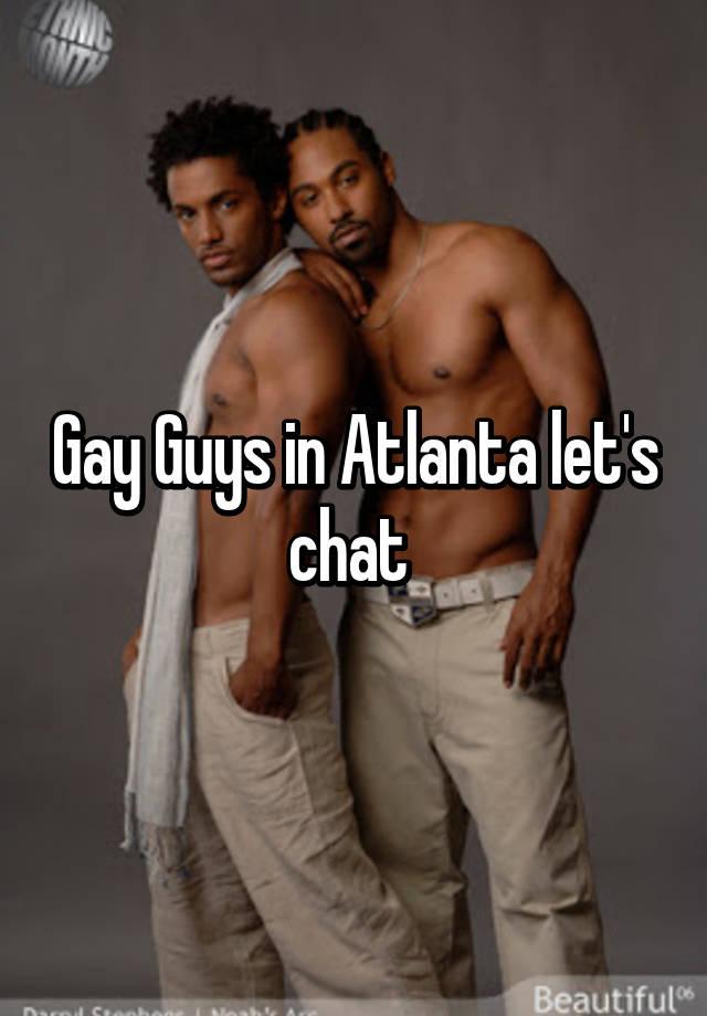 Black gay dating in atlanta
