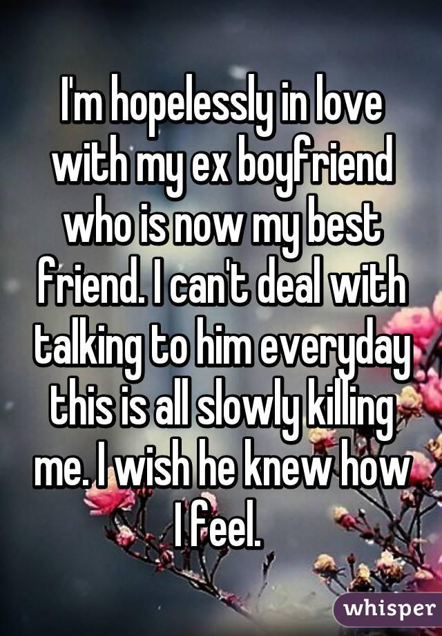 in love with ex boyfriend