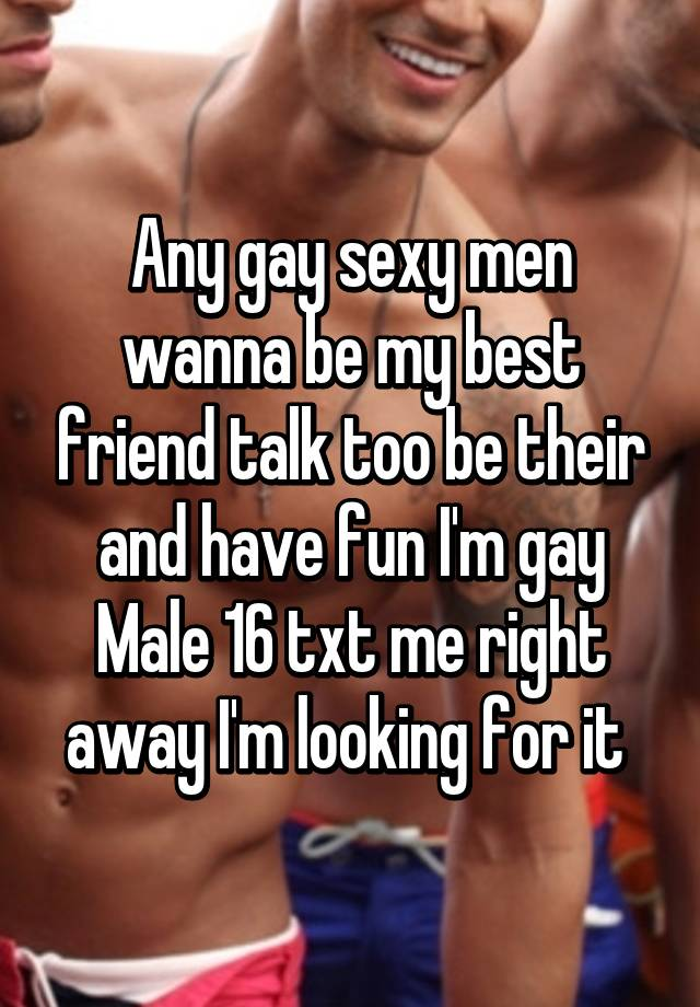 Talk to sexy people