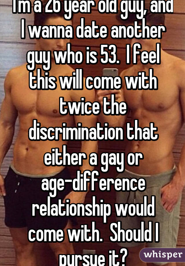 Age difference dating gay