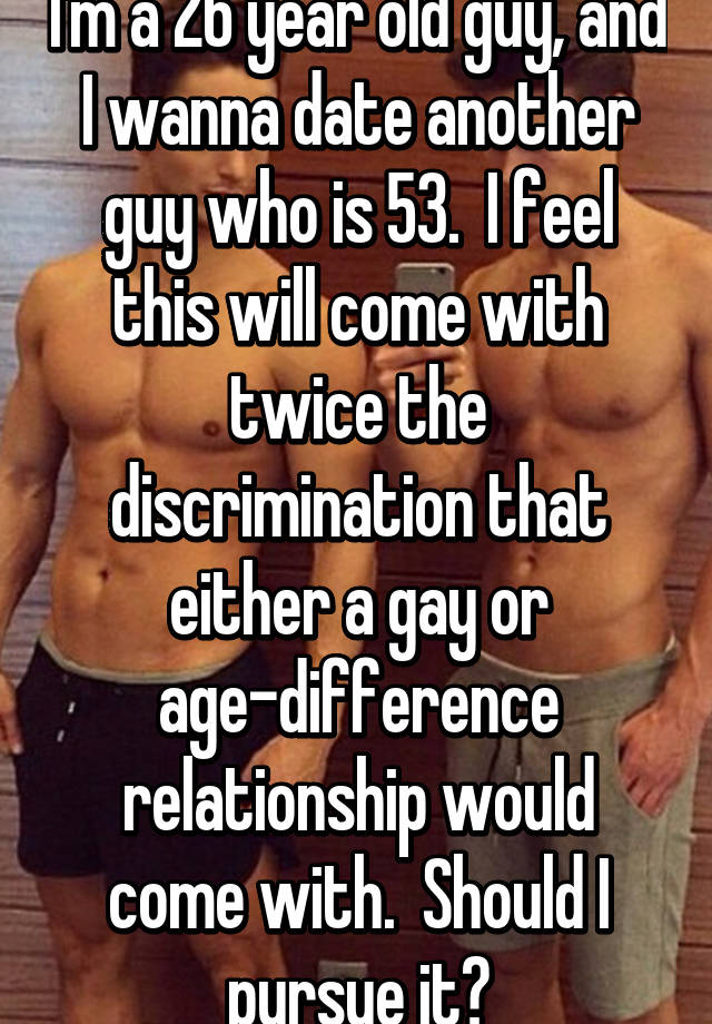 dating age difference gay