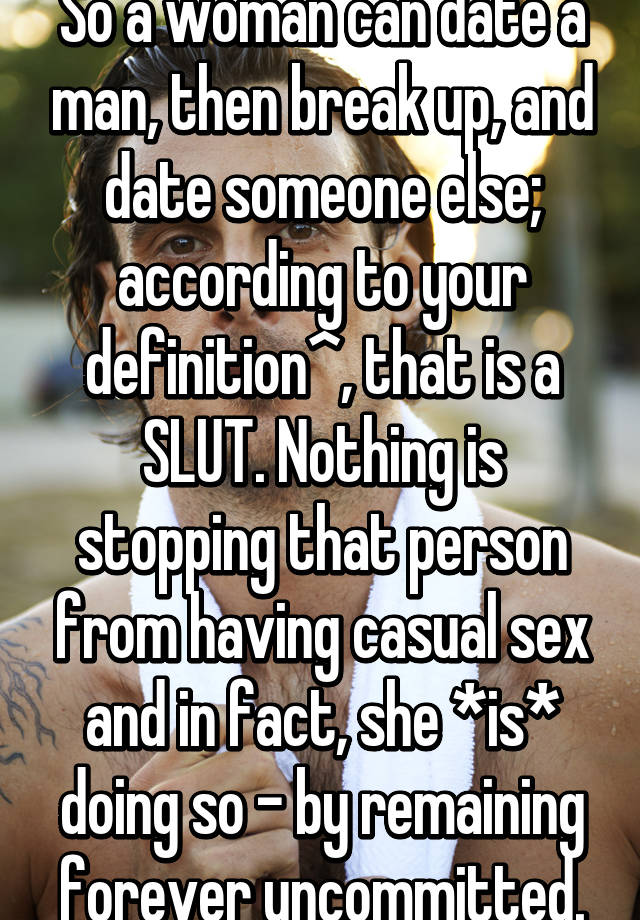 dating someone definition