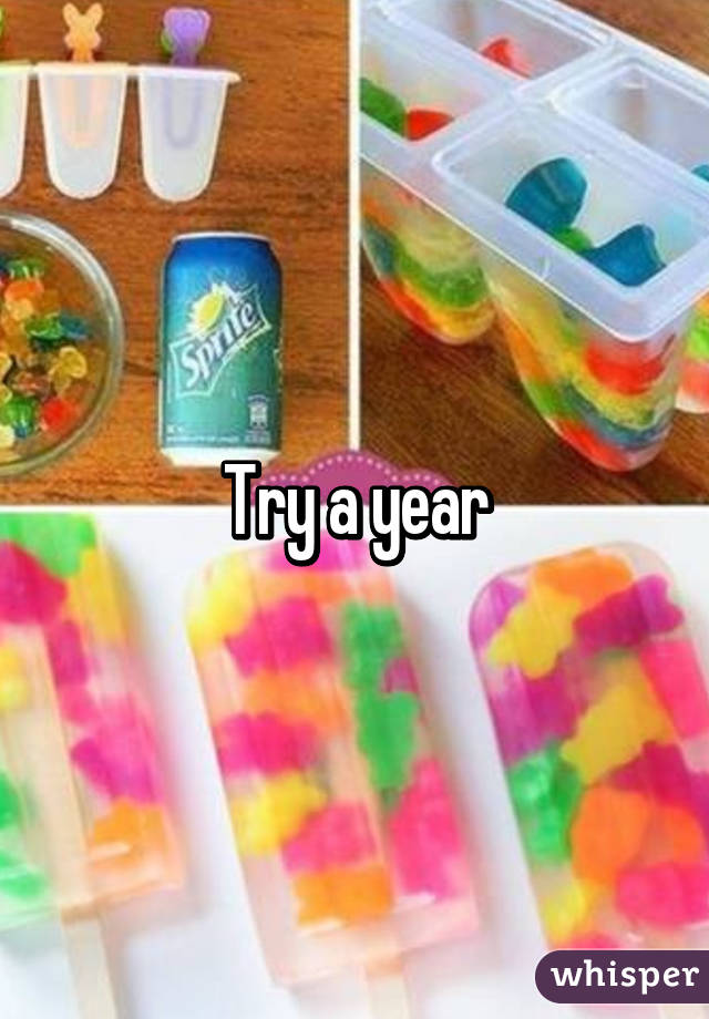 Try a year