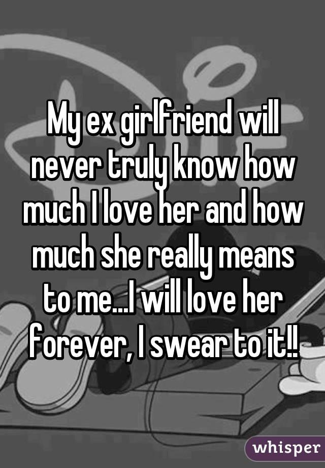 should i call my ex girlfriend