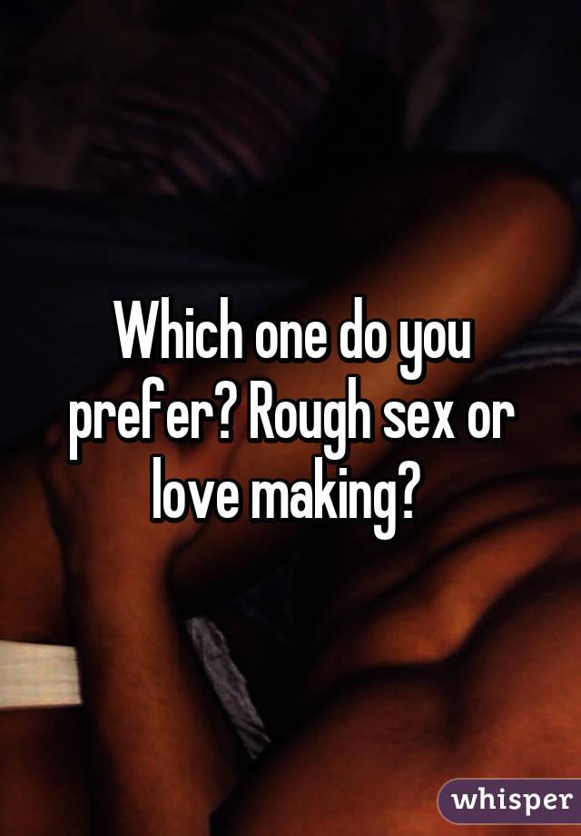 Предпочитаю в секс