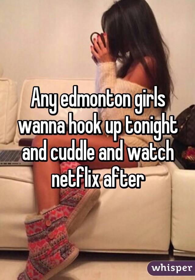 Hook Up In Edmonton