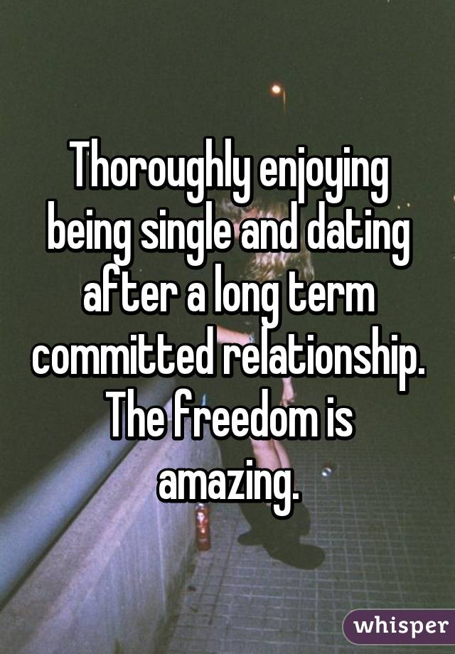 dating after being single