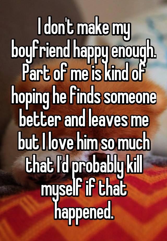 how do i keep my boyfriend happy