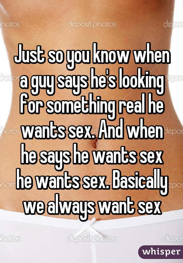 How to know a guy wants you sexually