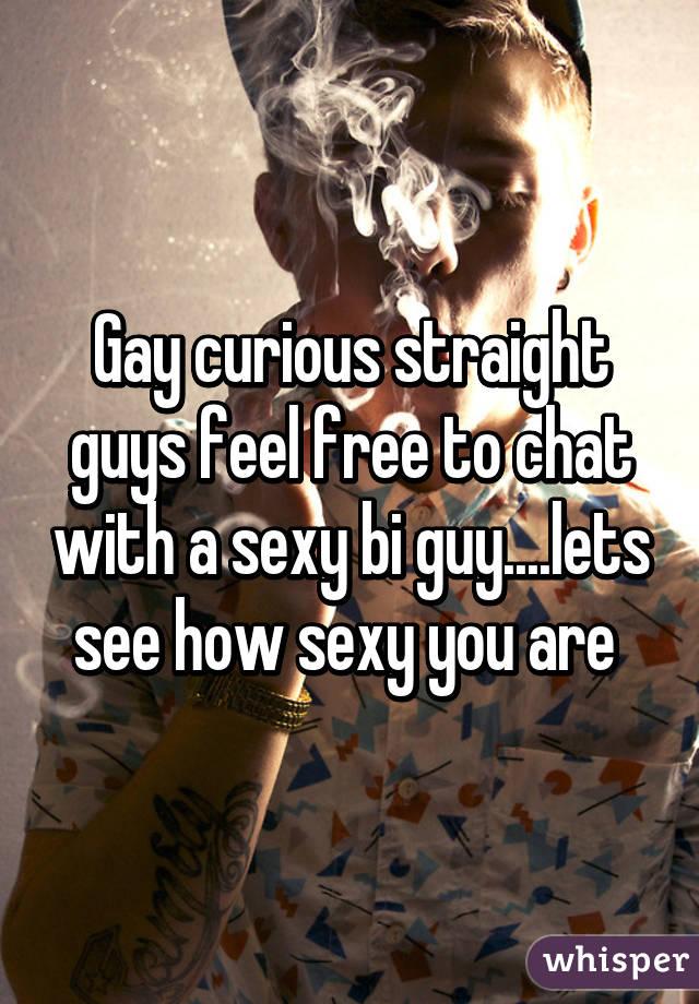 Bi guy sexy chat