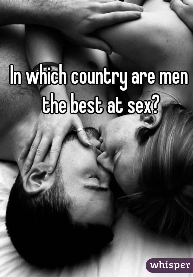 Which country best for sex