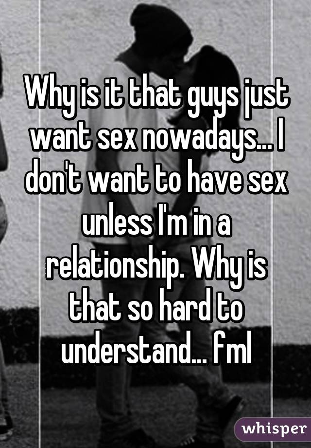 Bolds Do Guys Want Sex Just Why prizewinner the