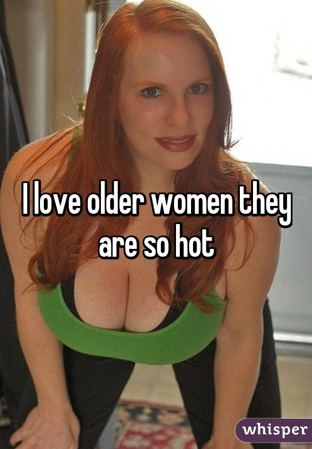 are Older so hot women