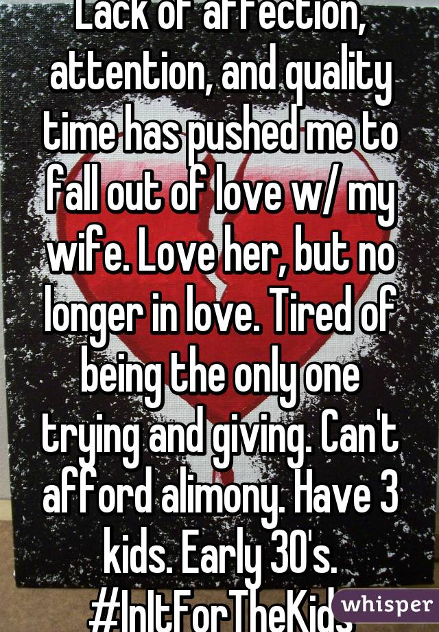 Has My Me Out Of With Fallen Wife Love