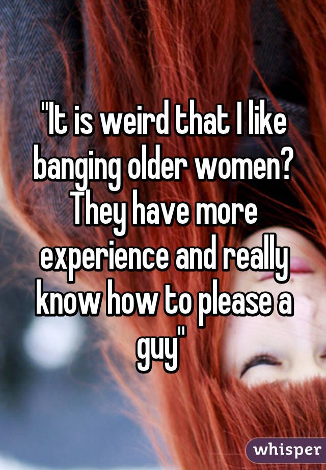 How to please older women
