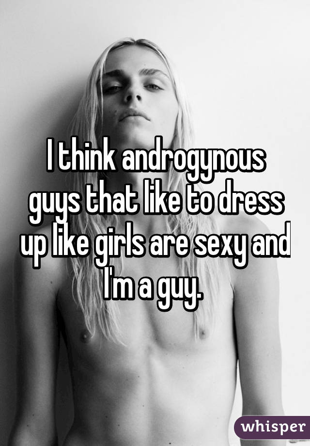 Sexy androgynous girls