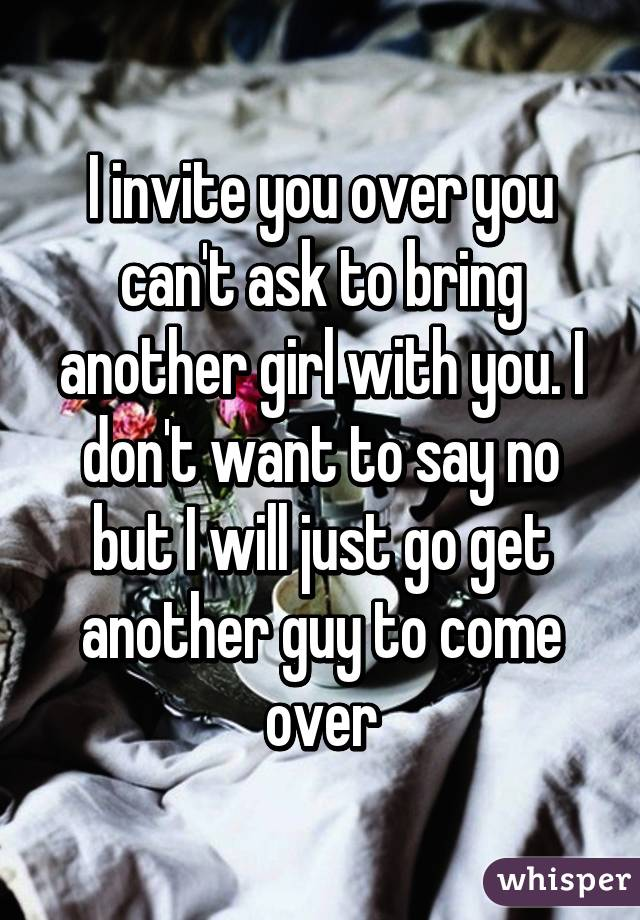 How To Get A Guy To Invite You Over