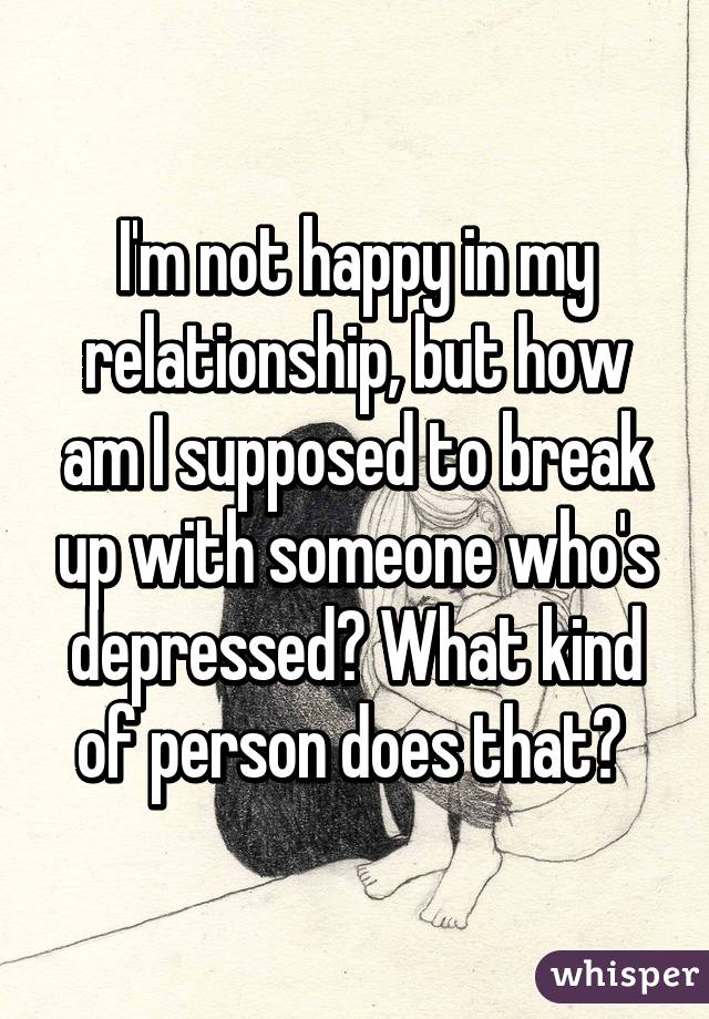 How To Break Up With Someone Who Has Depression