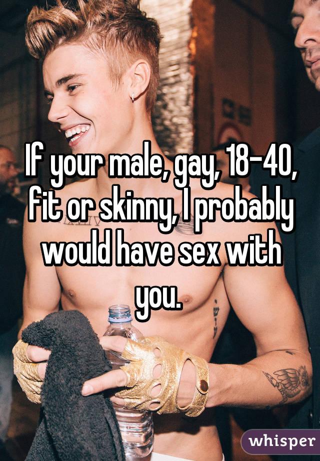 18 gay gay