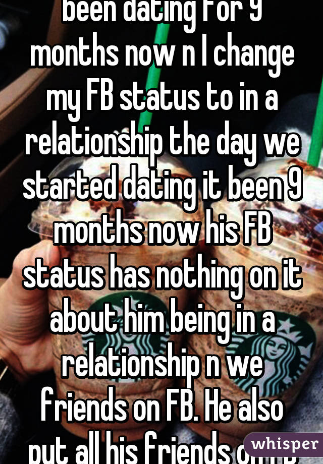 9 Dating Months Relationship For No
