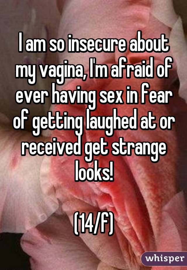 The fear of having sex
