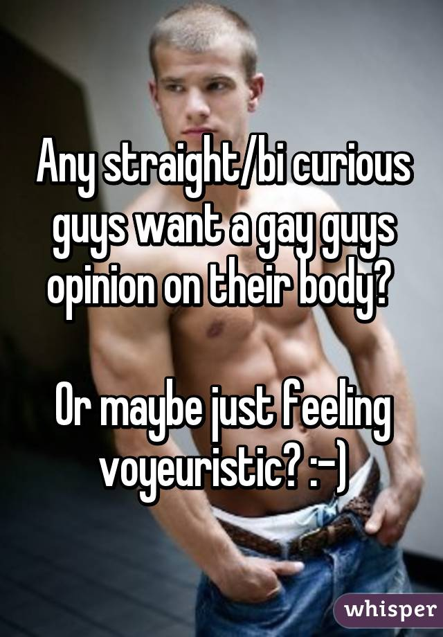 Straight bi curious