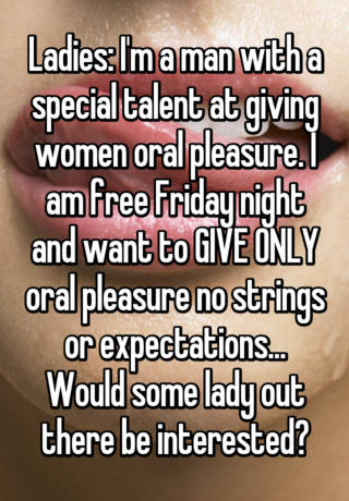 How to give a woman oral pleasure