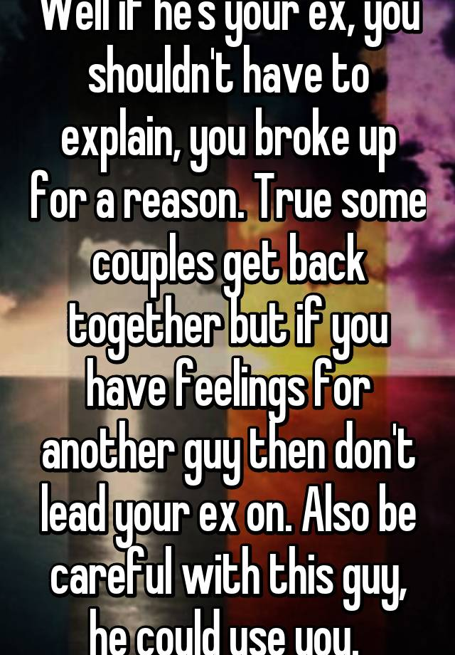 why do couples break up and get back together