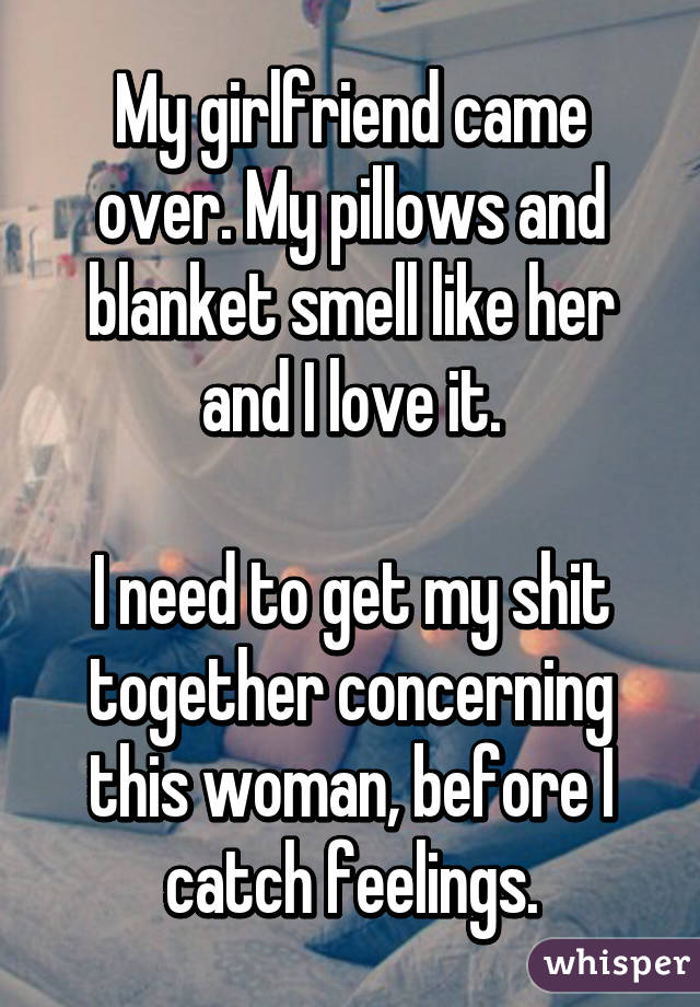 my girlfriend smells