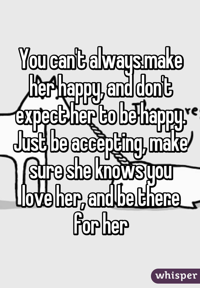 She knows how to make him happy