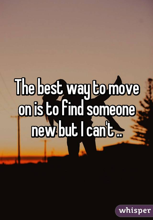 how to find someone new