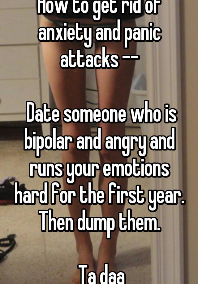 Panic attack dating