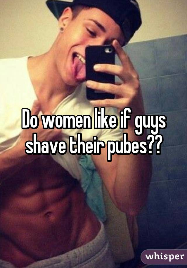 Do guys shave there dick