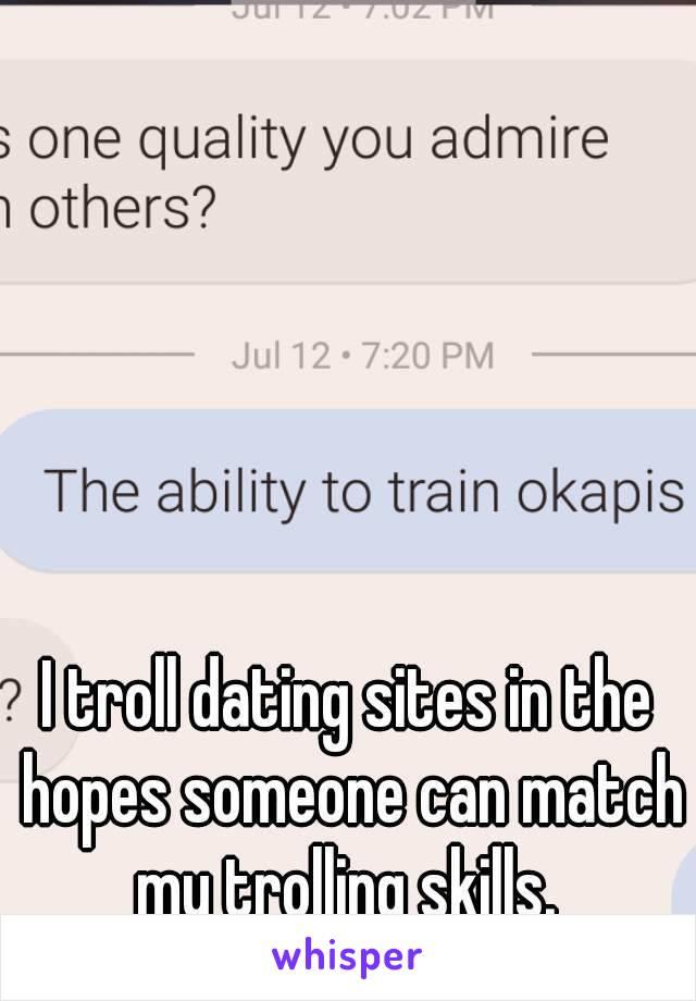 Trolle auf dating-sites