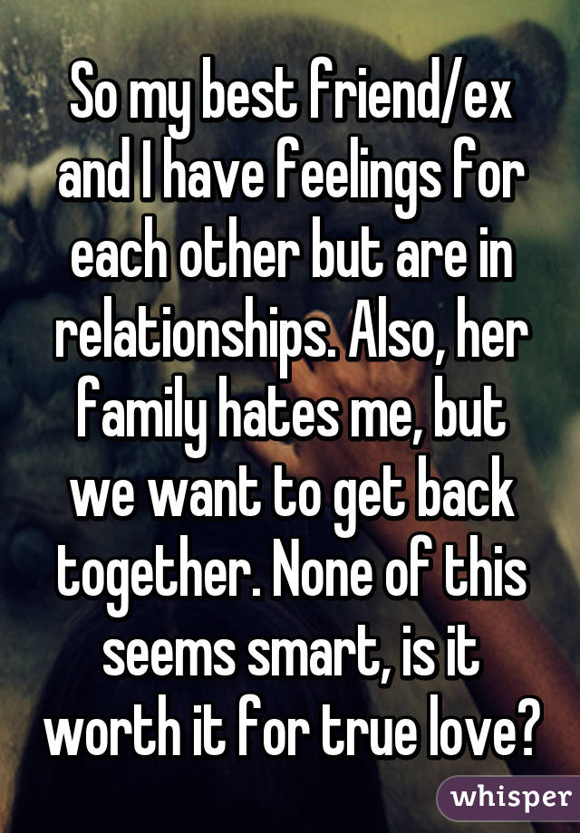 Is it worth getting back together with an ex