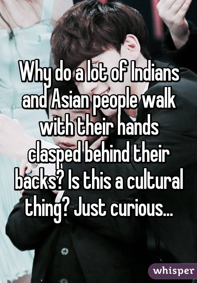 Idea)))) What asian people walk right!