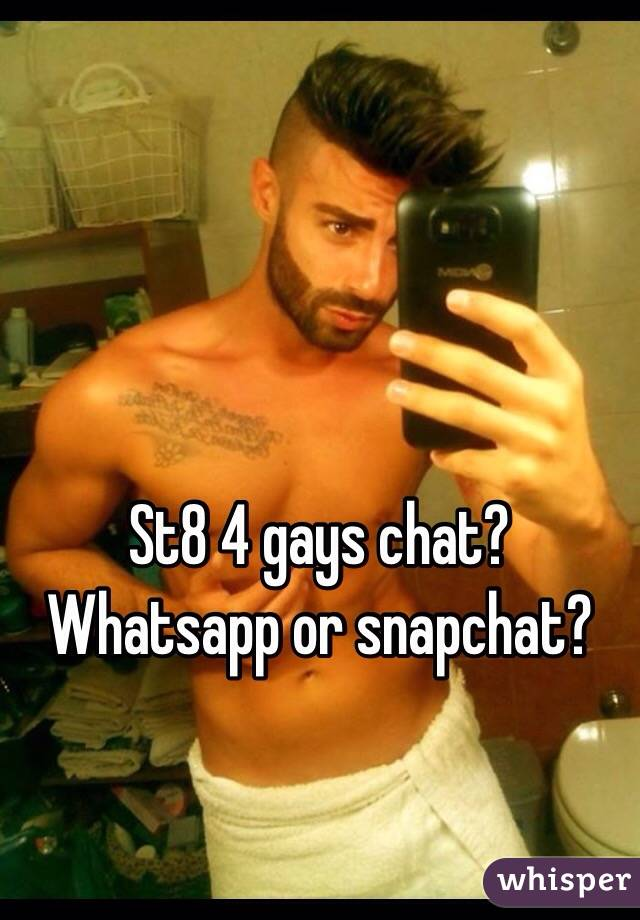 chat with gays