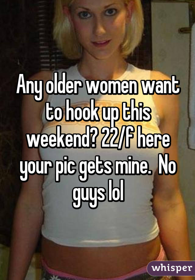 Hooking up with older women