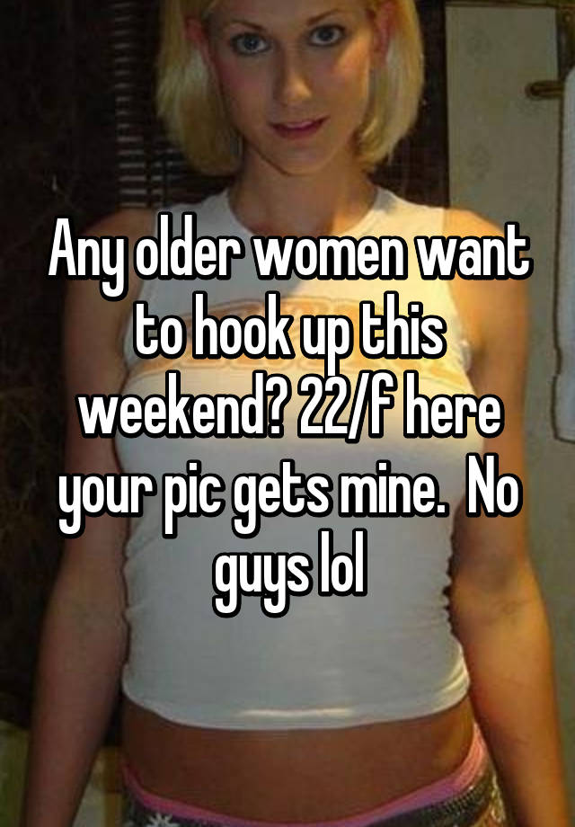 Good things about hookup an older woman