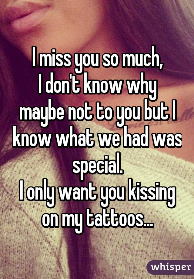 I Don T Know Why I Miss You So Much