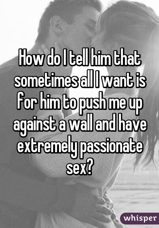 How to have sex against a wall foto 61