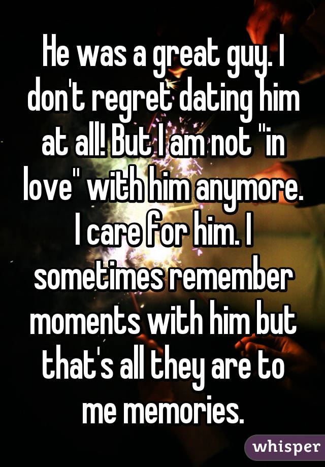 Dating A Guy But Not In Love