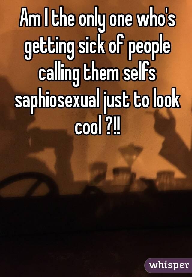 Saphiosexual