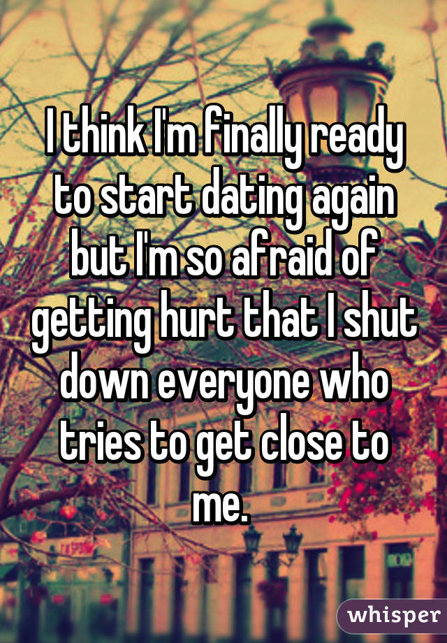 How do i know if im ready to start dating