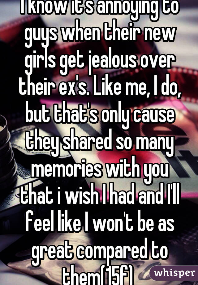 Also Girls Get Do So Easily Jealous Why duties might