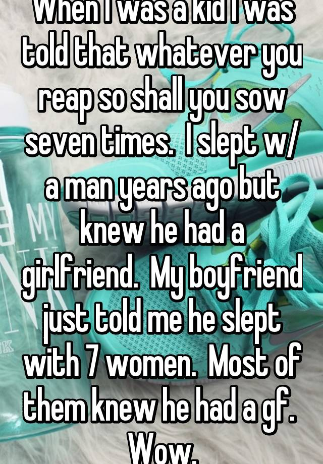 Most women slept with